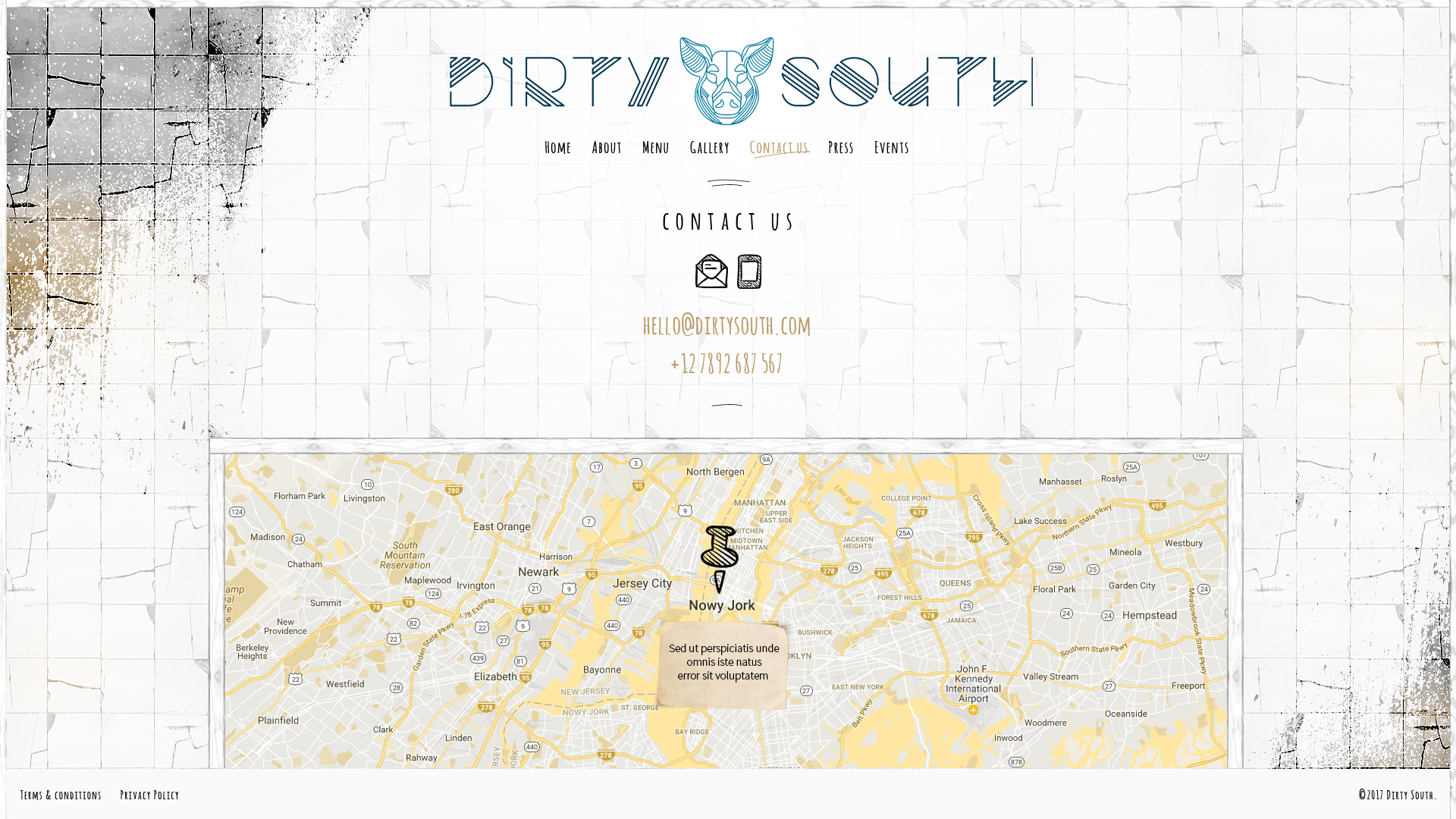 Dirty South – contact