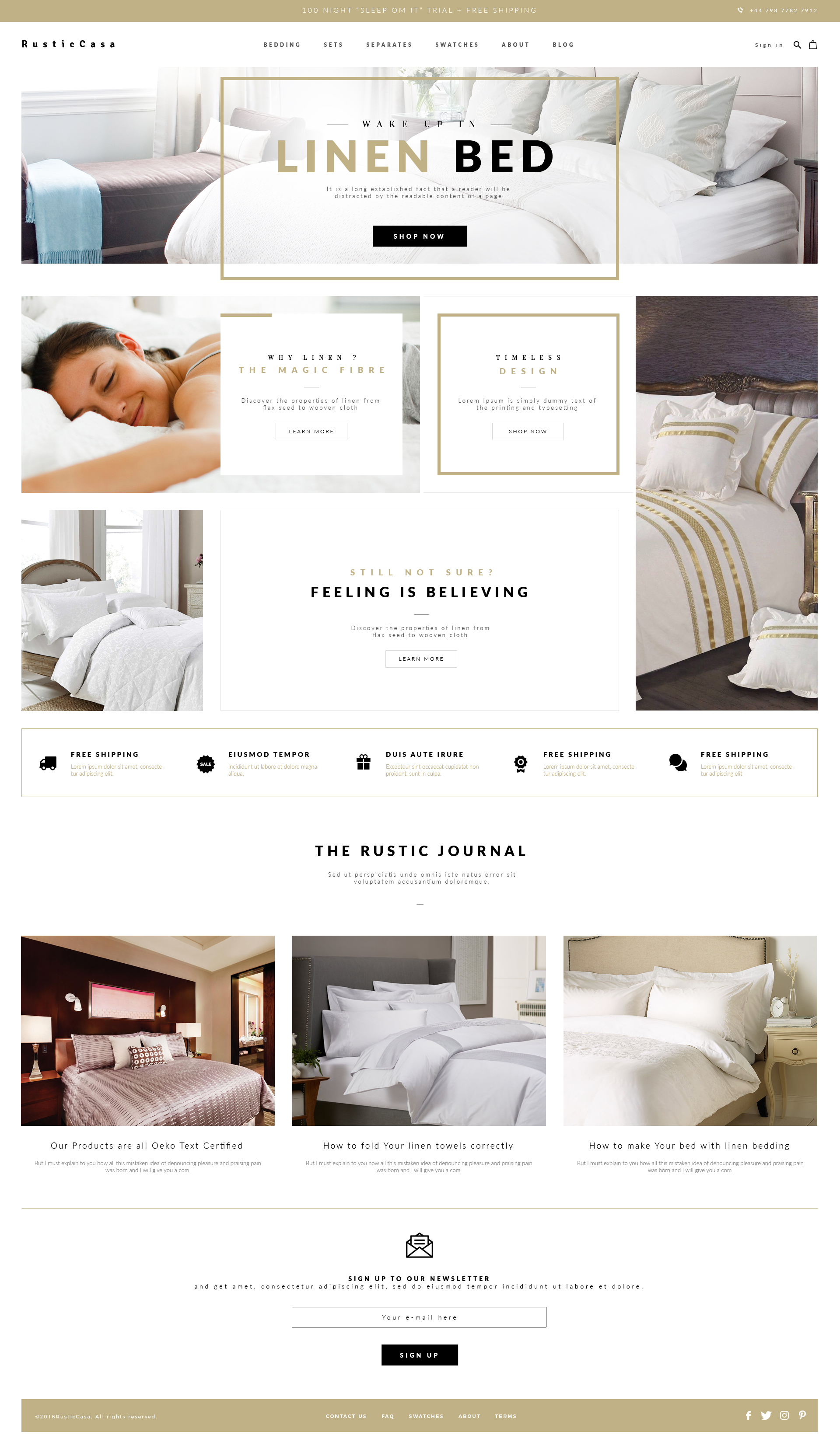 Pillow – home page